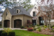 Stone is a Classic / The classic look of Stone can carry us away to a different time; think countryside churches, inns and manor houses while you're designing your dream home with stone.