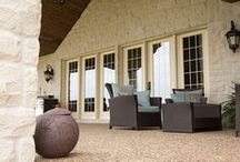 Outdoor Spaces / Enjoy the outdoors in style with Arriscraft.