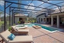 Summer Lovin' / At M/I Homes, we are a BIG fun of summer and all that comes with it. In fact, designing the outdoor areas like the pool, patio, lanai, etc. is one of our favorite parts!