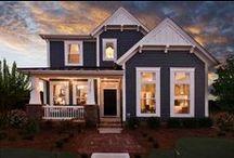 Inspiring Exteriors / Some of our favorite M/I Homes exteriors