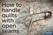 Quilting tips & tutorials / Tips and tutorials you can use while longarm quilting.