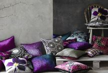 Lauraloves Cushions / Lauraloves printed cushions handmade and exclusively designed by Laura Nicolson in Great Britain.