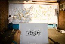 making of Graffiti advertinis