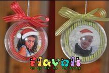 Enfeites de Natal com foto / :: flavoli.net - Papelaria Personalizada :: Contato: (21) 98-836-0113 vendas@flavoli.net
