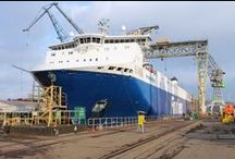 Scrubber systems at Nauta / Finnlines Plc has chosen Nauta Shiprepair Yard for the installation of srubber systems.