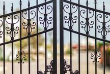 Railings & Gates for Period Homes / We've curated our favorite period home railings and gates to inspire you on your next design.