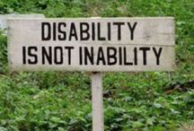 The Cause / Informative and inspirational pins about disability