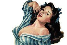 Vintage Pinup Girls / Artes de Alberto Vargas y Chavés