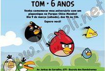 Festa Angry Birds / :: flavoli.net - Papelaria Personalizada :: Contato: (21) 98-836-0113 vendas@flavoli.net