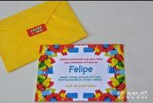 Festa Lego / :: flavoli.net - Papelaria Personalizada :: Contato: (21) 98-836-0113 vendas@flavoli.net