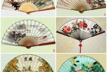Antique Hand Fans / Unique Hand Fans