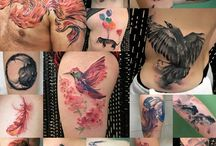Yuki Zerkjad Watercolor Tattoos