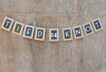 w e d d i n g / I may have eloped, but I'm still planning a celebration!