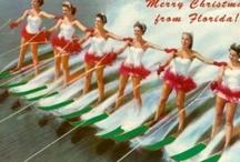 Oh, Christmas Palm / Imagining a retro Palm Beach kind of Christmas