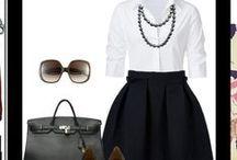 Working Girl Wardrobe / Work fashion and advice