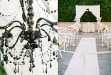 { Wedding } Black, Blush, & Champagne / Elegant and Lush