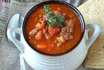 Soups, Stews, & Chili / by Kathy Adkins Avon Beauty At Any Age!