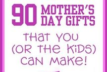 Mother's Day! / Great ideas for DIY Mother's Day Gifts for Kids to make and Great gift ideas for ready-made gifts.