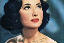 Makeup - Retro beauties / Old ads, photos, faces that have made history, immortal beauties