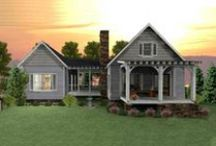 House Plans for Cabins, Cottages, & Bungalows / House plans