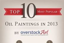 Top 10 Oil Paintings for 2013