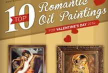 Top 10 Most Romantic Oil Painting for Valentine's Day 2014 / Our highly anticipated annual Top 10 list of most romantic oil paintings for Valentine's Day