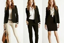 Look like a lady, Work like a boss! / Outfits for work/office. Sophisticated, fun, feminine, fierce.   [I am an Independent Woman]