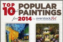 Top 10 Oil Paintings for 2014 / overstockArt.com Releases the Top 10 list annually to help customers and companies keep up with the latest interior décor trends and to maintain a modern appeal. The annual top 10 list makes it easy for consumers to stay on top of the trends and find out which oil paintings are most hip and desirable in the marketplace.