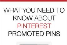 Pinterest Promoted Pins & Pinterest Ads / A collection of information about Pinterest's Promoted Pins and Buyable Pins (Pinterest paid ads). All the best tips and tricks for how to use Promoted Pins to market your blog, brand or business to get more brand recognition, click-throughs, email sign-ups, and product or service sales.