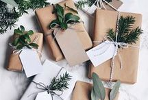 Gifts wrapping   Christmas / VArious simple but creative ideas how to wrap Christmas gifts.