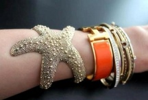 Arm Candy / *fashion as expressed through arm candy: i.e., bangles, bracelets, cuffs, watches...* / by Lexy
