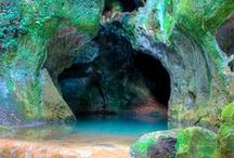 Caves / by Kathy M. Storrie/writer/author/pinner
