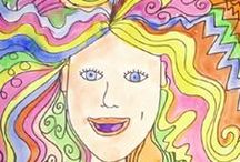 Children Art Ideas / Nice art projects to teach kids / by Kathy M. Storrie/writer/author/pinner