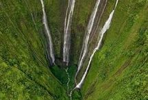 Waterfalls / by Kathy M. Storrie/writer/author/pinner