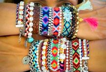 Arm Candy & Stacks of bracelets