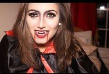 Halloween / Halloween Makeup, Nails, Outfits and How To's