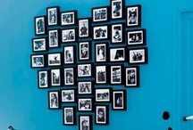 Picture galleries & paintings on wall & wall decorations / Wall decoration ideas