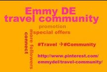 #Travel ✈ #Community / #Travelagencies, #touroperators #hoteliers, #airlines, #touristinformation offices…this is your board! PROMOTE YOUR #TOURISM #BUSINESS HERE! Feel free to pin your #offers, #special #rates or best travel pictures. Travellers will FIND USEFUL LINKS. Due to spam please NO invites! For invites leave a comment on  http://www.pinterest.com/pin/5277724538632796/ Thank you for your cooperation and now enjoy Pinterest's growing travel community! / by Emmy DE