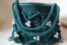 Crochet bags and totes  / by Jill Wallace
