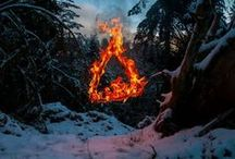 Elements / Fire. Water. Air. Earth  / by Serene H