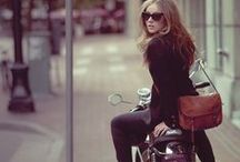 Bikes / Motorcycles (Harley-Davidson and road)