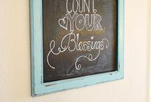 Chalkboard art / by Nichole Steele