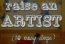 SAHM-Arts &Crafts / Feed their creativity / by Renae Chamberlain
