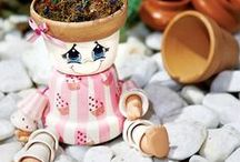 Crafts - Clay Pots / by Janet Kovacic