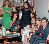 Dalida et sa famille