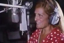 Dalida dans le studio