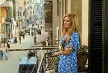 Dalida - contexte / Dalida Egypt - Cairo - Choubra - lieu de naissance, Italy - Calabre - Serrastretta - résidence des parents, endroits connus où des concerts organisés Dalida et des sites commémoratifs à Paris