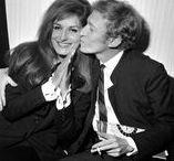 Dalida et Lucien Morisse - son mari / Lucien Morisse  -  directeur, amant, mari, et même après le divorce ami pour toujours. Très court mariage 8. 4. 1961 - 1962. Lucien est mort 9/1970 - le suicide - lui-même tiré