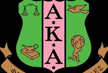 Alpha Kappa Alpha / by Tamara Hedgepeth