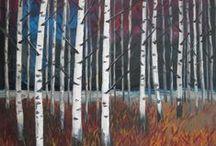landscapes by maria melenchuk